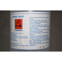 Acetic Acid 80% (1 Litre)