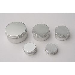 100ml Aluminium Pot & Lid