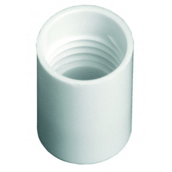 White Rollette Cap (17mm)