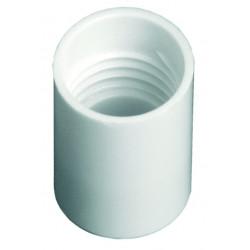 White Rollette Cap (17mm)