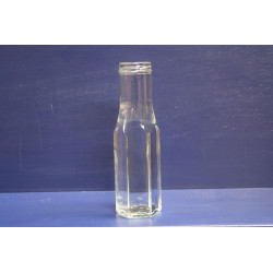 250ml Sauce Bottle (Hexagonal)