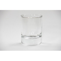 10cl Clear Candle Glass (72)