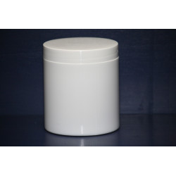 300G White Pot & Lid (1)