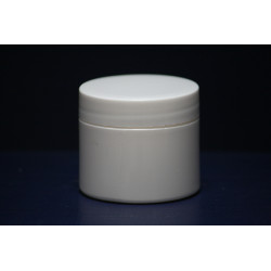 50gm White Pot/Lid