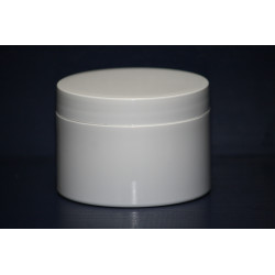 100g White Pot/Lid