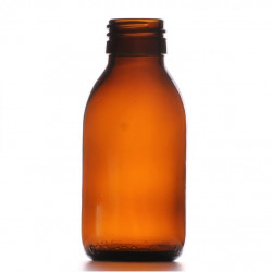 100ml Amber Round Bottle R3...