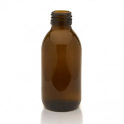 150ml Amber Round Bottle R3...