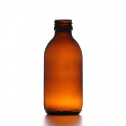 200ml Amber Round Bottle R3...
