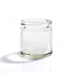60ml Clear Glass Jars & Lids
