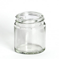 30ml Clear Glass Jars & Lids