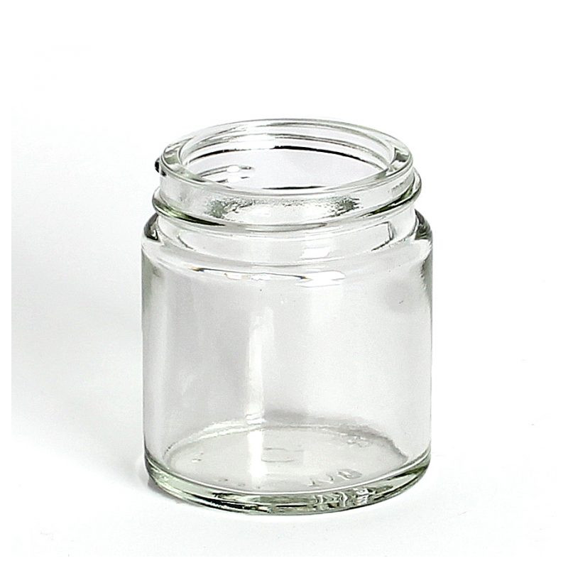 711c4f47ac7c 30ml Clear Glass Jars & Lids