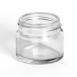15ml Clear Glass Jars & Lids