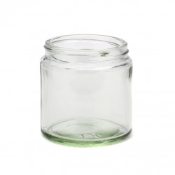 120ml Clear Glass Jars & Lids