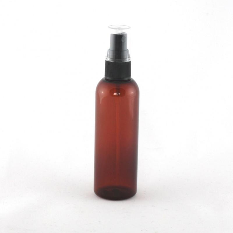 100ml Amber PET Bottle & Atomiser