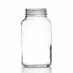 250ml Clear Powder Jar &...