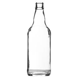 500ml Ale Bottle (Clear)
