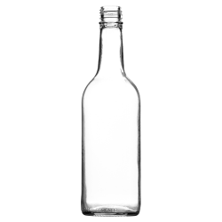 500ml Mineral Bottle (Clear)