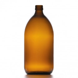 1000ml Amber Round Bottle...