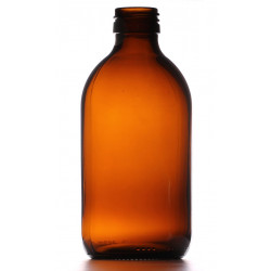 300ml Amber Round Bottle...