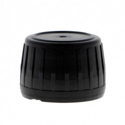 28mm T/E EPE Lined Cap Black