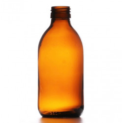 250ml Amber Round Bottle R3...