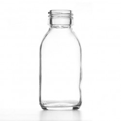 100ml Clear Round Bottle R3...