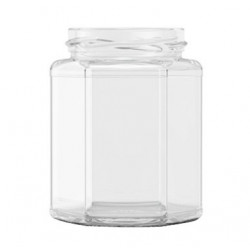 12oz Hexagonal Jars