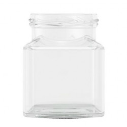 12oz Square Jar