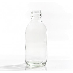 200ml Clear Round Bottle R3...