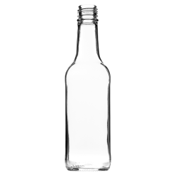 330ml Mineral Bottle (Clear)