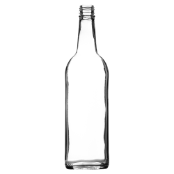 750ml Mineral Bottle (Clear)