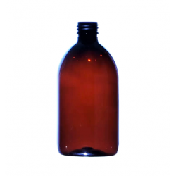 500ml Amber Sirop Bottle & Cap