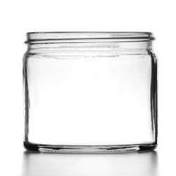 250ml Clear Glass Jars &...