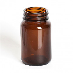 60ml Amber Powder Jar/Lids...