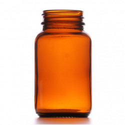 100ml Amber Powder Jar/Lids...