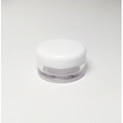 5ml Clear Plastic Pot & Lid