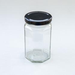 12oz Octagonal Jars (63mm...
