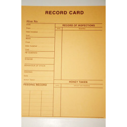 Record Card