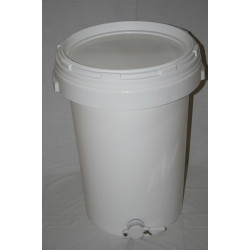 Plastic Tank with Valve (70kg)